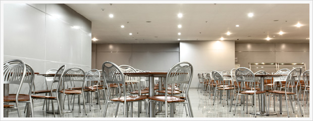Cafeteria Lexicon Lighting Technologies Led Lamps