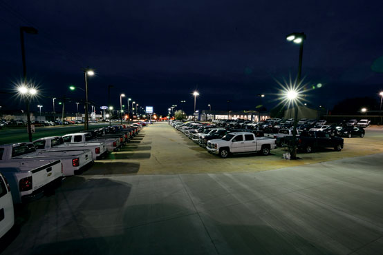 Parking Lots Lexicon Lighting Technologies Led Lamps